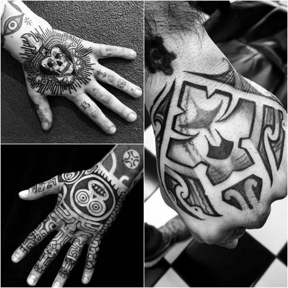 мужские тату на кисти руки - тату на кисти руки для мужчин - тату на кисти руки эскизы