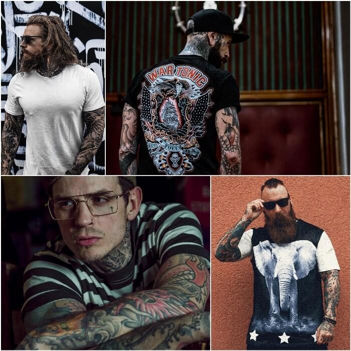 тату рукав мужской - татуировки мужские - тату для мужчин